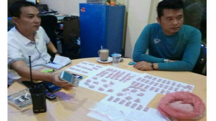 Ratusan Pil Ekstasi Dari Aceh Akan Diedarkan di Pekanbaru