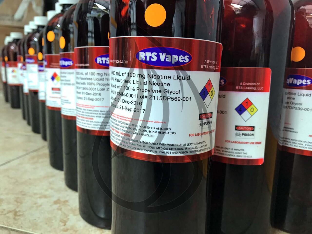 Terjual Liquid Nicotine Nikotin Cair 100mg Ml Rts Vapes Usa Nicvape Per 100ml Repack Strong Th