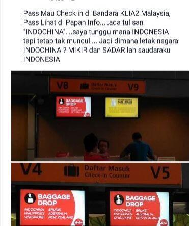 (Lagi Viral) Gagal Paham, Netizen Ngira Indochina Itu Indonesia