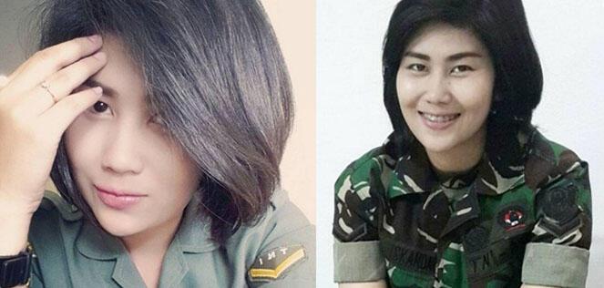 7 Wanita Cantik Anggota TNI, Bikin Jantung Berdebar