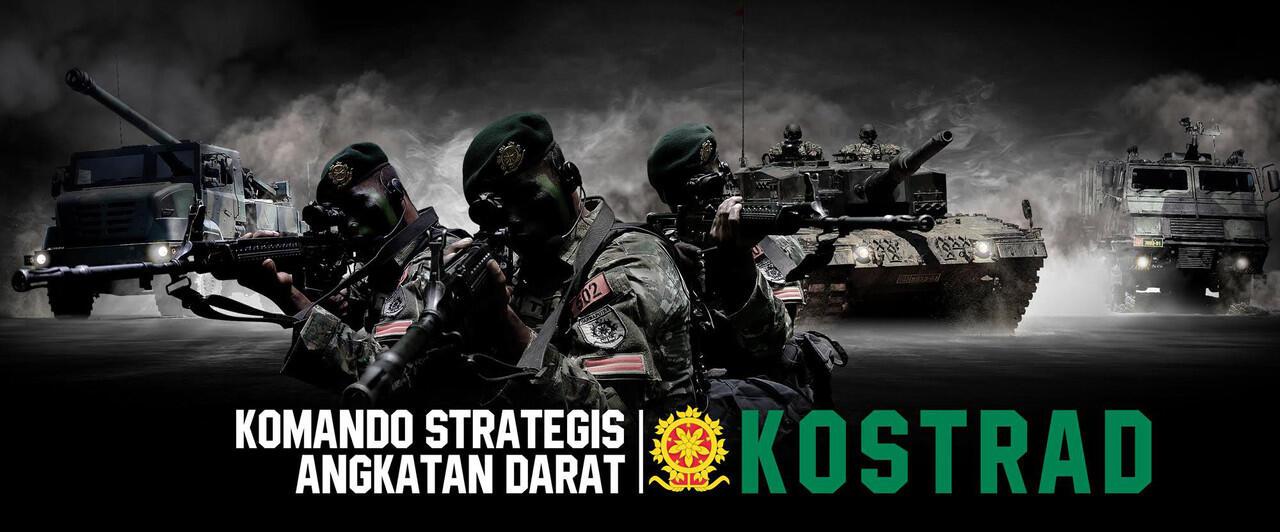 Menyambut Hari Kostrad 2017: Mari Mengenal Komando Strategis Angkatan Darat Indonesia