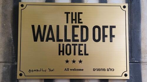 Pemandangan Paling Buruk Sedunia dari Hotel di Palestina