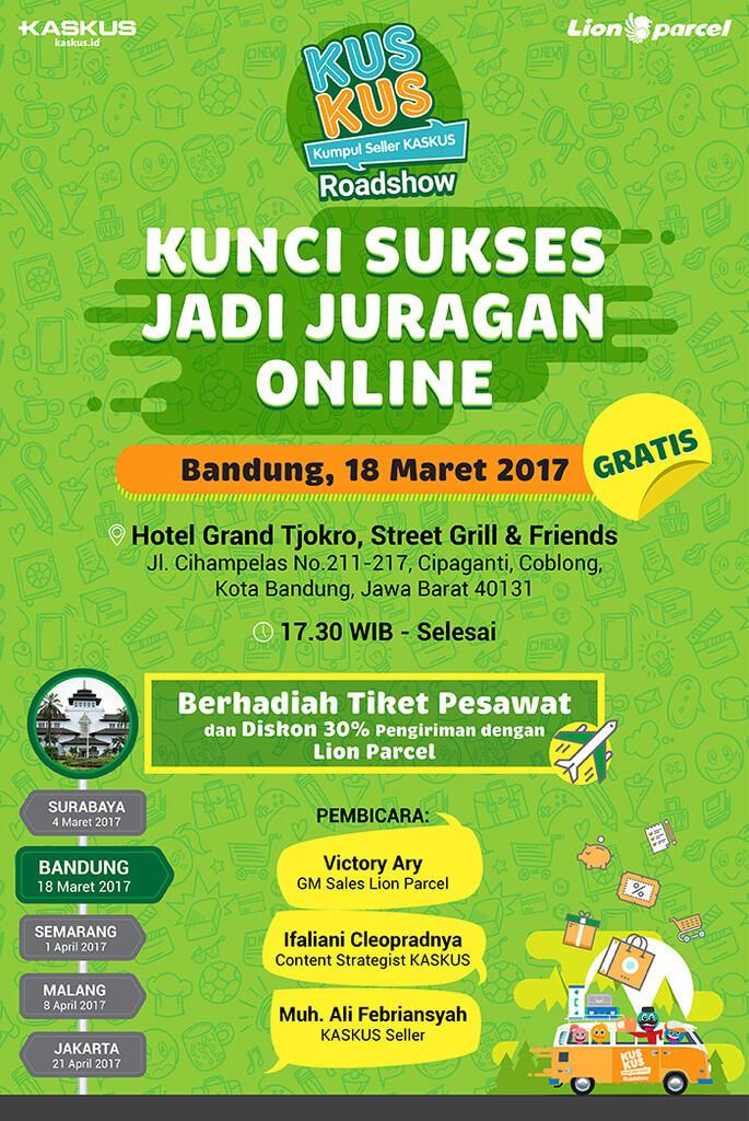 Seru-seruan Bareng KUSKUS di Bandung Yok, Gan!