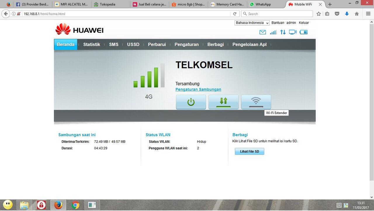 Mifi 4g Huawei E5577 Free Telkomsel 14gb Unlock Version Garansi 3 Dan Xl Go 90gb Review Tahun