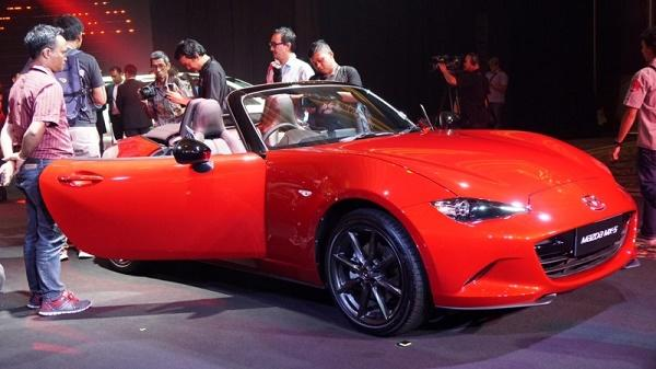 Gokil Mazda Indonesia Luncurkan 5 Mobil Baru Sekaligus Gan!