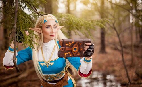 Cosplay Zelda Ini Bakalan Bikin Agan Nggak Bisa Ngedip
