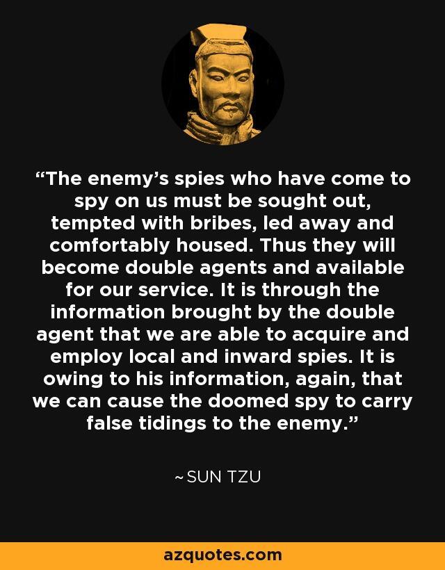 Ini Arti Intelijen Dimata Sun Tzu!