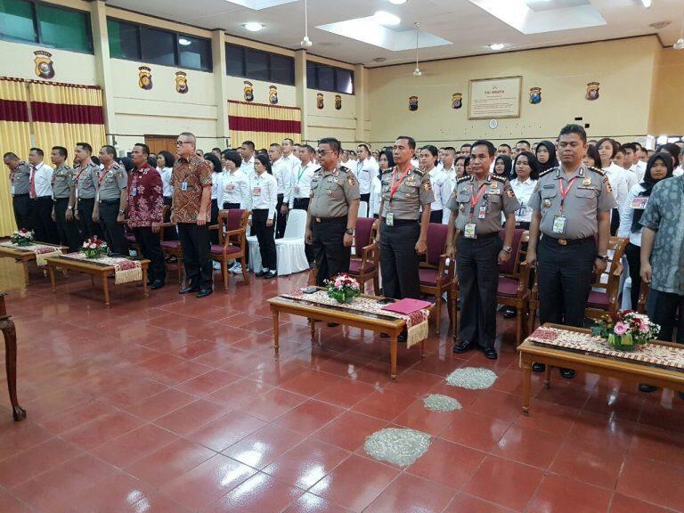 Penandatanganan Pakta Integritas Rekruitmen SIPSS 2017 untuk Wujudkan Polisi Bersih
