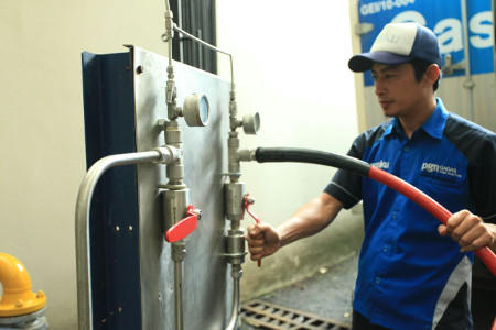 PGN Distribusikan Gas Bumi Tanpa Pipa, Lewat Gaslink