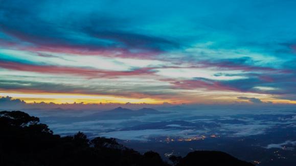 Summit attack Kinabalu