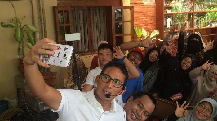 Sandiaga Uno: Selfie Penting untuk Kampanye