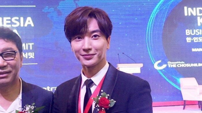 Lee Teuk Undang Presiden Jokowi Nonton Konser Super Junior