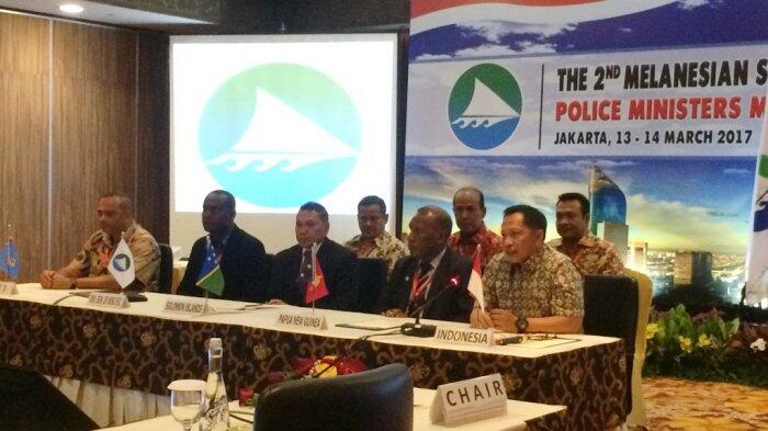 Polri Gandeng Negara Kepulauan Melanesia Perangi Kejahatan Transnasional