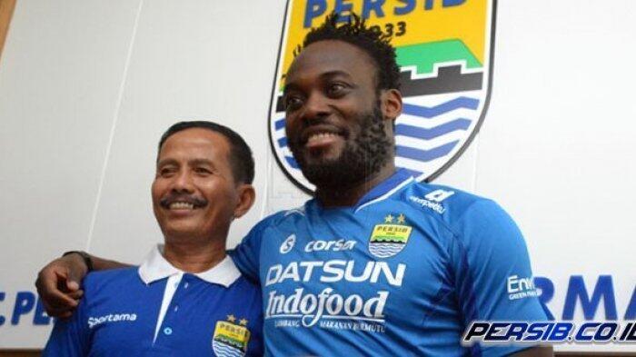 Michael Essien Targetkan Raih Tropi Bersama Persib Bandung di Liga 1