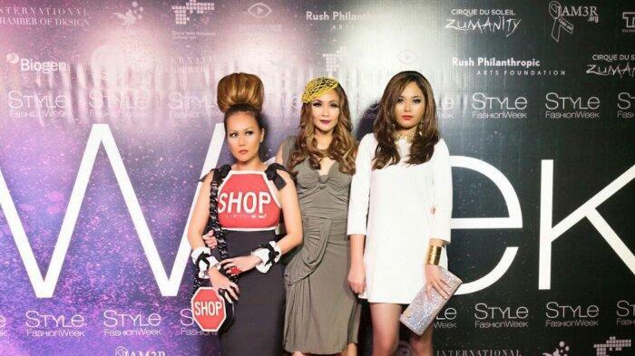 Kenangan Lucu Cheverly Amalia Saat Hadiri Fashion Week Los Angeles 2017