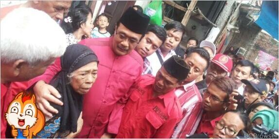 "#Ahok Janjikan Program ""Kartu Jakarta Lansia"""