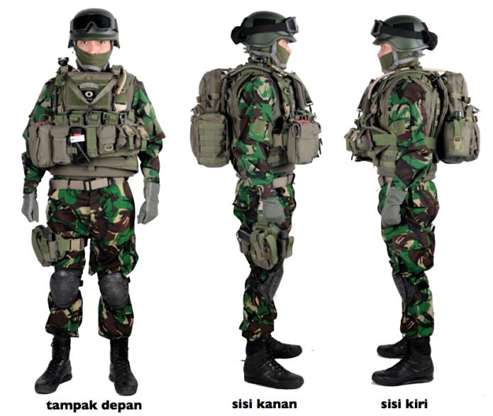 Mengenal beberapa seragam loreng terbaik di dunia