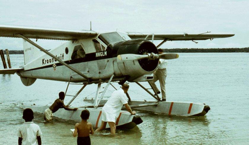 Kisah NNGLM KLM 'Kroonduif' dan Penerbangan Perintis di Papua