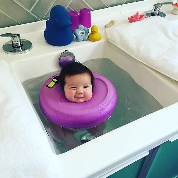 Lihat Foto-Foto Menggemaskan Spa Bayi Yang Lagi Trend Ini Gan!