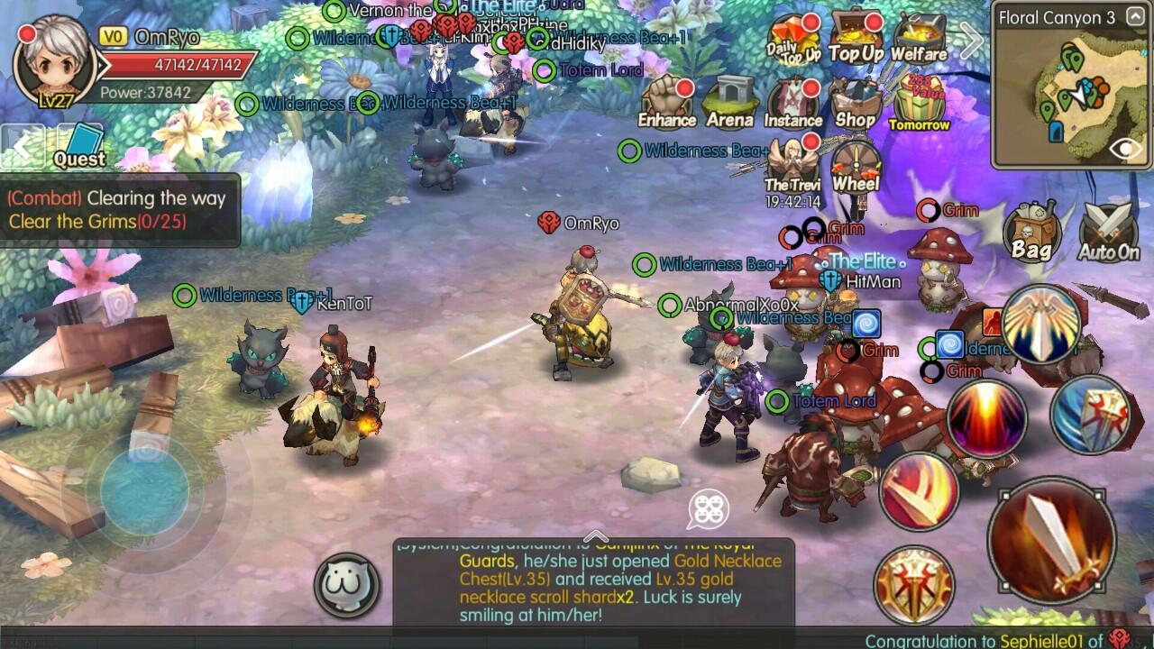 [Android/iOS] Guardians of Fantasy - Mobile ToS-like MMORPG!