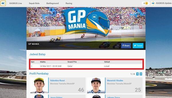 Live Update GP Mania 2017 Brno Ceko