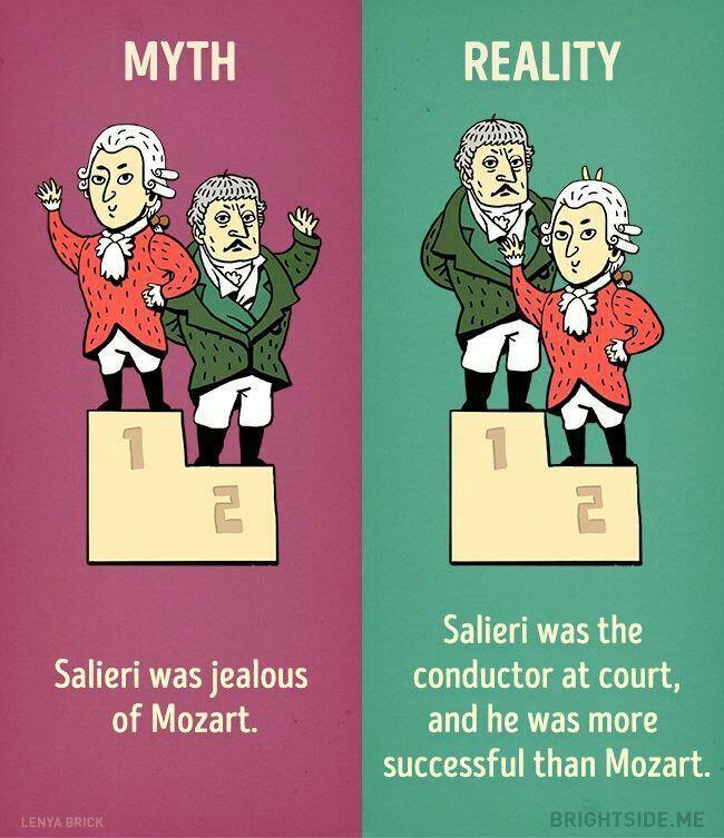 9 Sejarah Ini Ternyata Memiliki Fakta & Mitos Di Dalamnya
