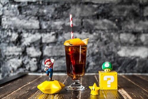 Bar Lucu Bertema Mario Bros, Serasa Hidup di Dunia Game!
