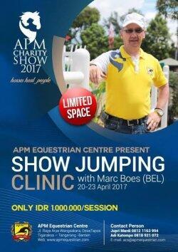 Klinik Show Jumping Marc Boes Bersamaan Dengan Apm Charity