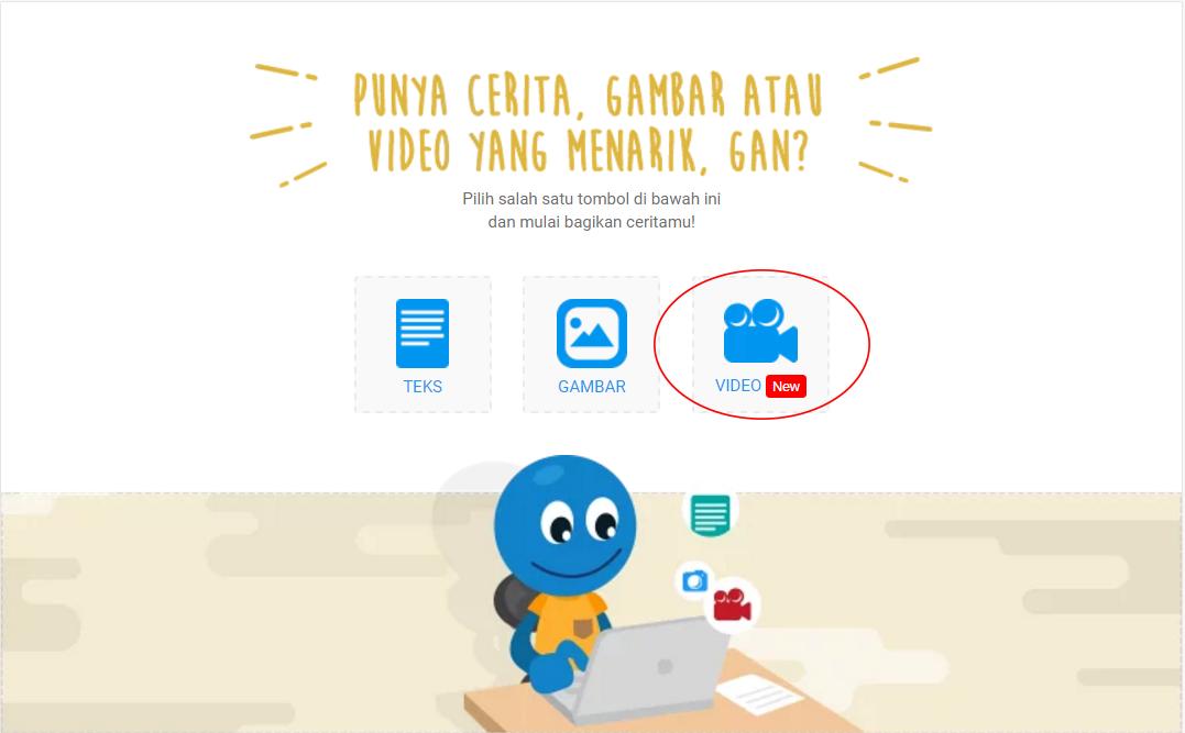 [ANNOUNCEMENT] Kaskus bisa upload video Gan!