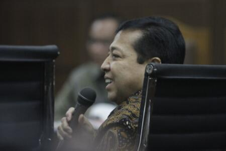 Novanto: Keterangan Ganjar Pranowo 'Jangan Galak' Tidak Benar