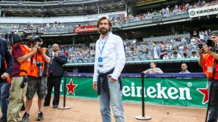 Antonio Conte Inginkan Andrea Pirlo Jadi Staf Pelatih di Chelsea