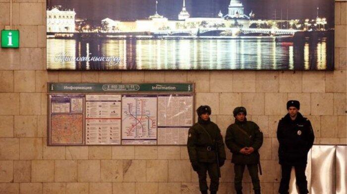 Polisi Rusia Amankan Bahan Peledak di Apartemen St Petersburg