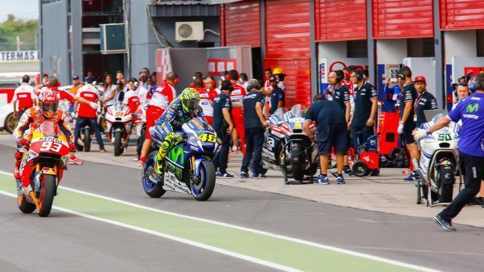 Valentino Rossi Ingin Aspal yang Lebih Baik di Argentina