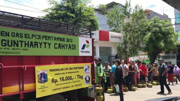 Per Hari, Pertamina Pasok 400-an Ribu Tabung Gas Elpiji Bersubsidi ke DKI Jakarta