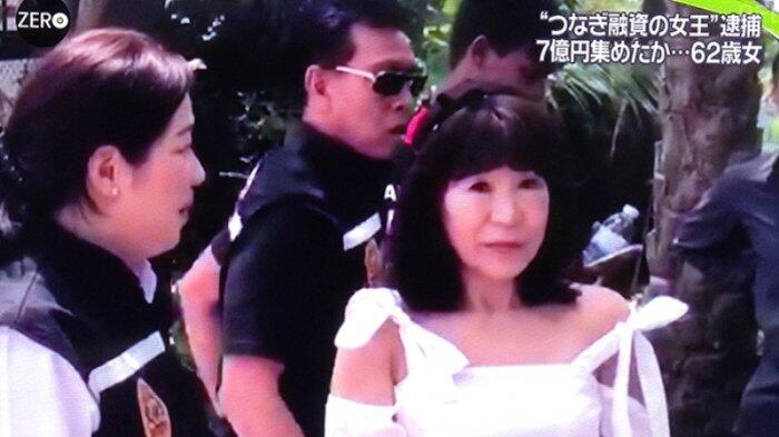 Si Cantik Jepang Ini Bawa Kabur 700 Juta Yen Ditangkap di Thailand