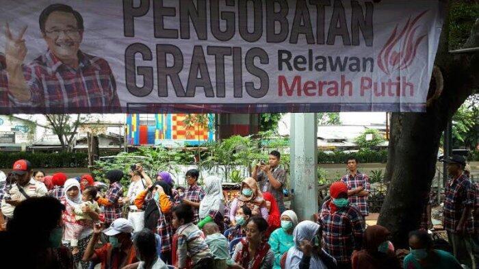 Relawan Merah Putih Gelar Bakti Sosial di Kelurahan Cipinang Besar