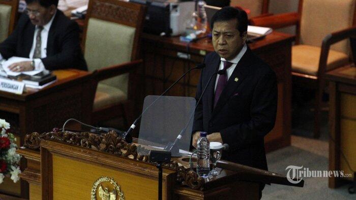 Novanto Jadi Saksi e-KTP, Rapat Paripurna DPR Tetap Jalan