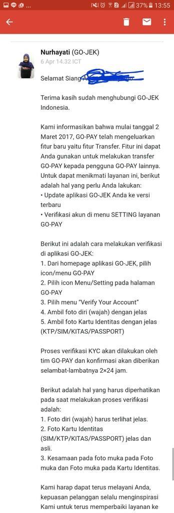 GO-JEK Indonesia Layanan Sangat Buruk dan Menipu Konsumen