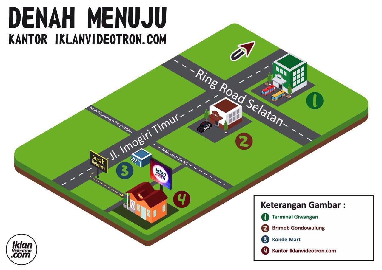 Info Denah Menuju Kantor Iklanvideotron Dan Videotron Indonesia Kaskus