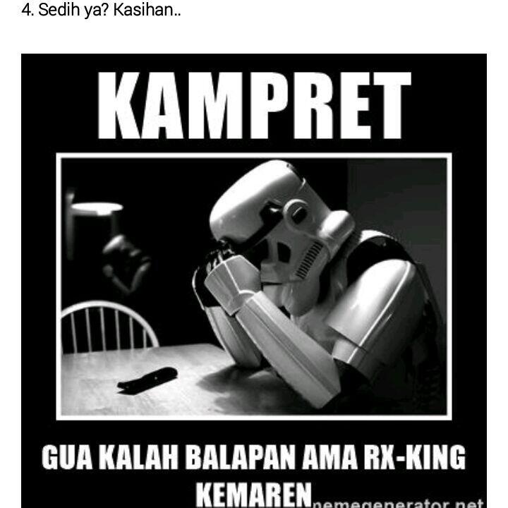 10 Meme Lucu Tentang Motor Rx King Kocak Abis Kaskus