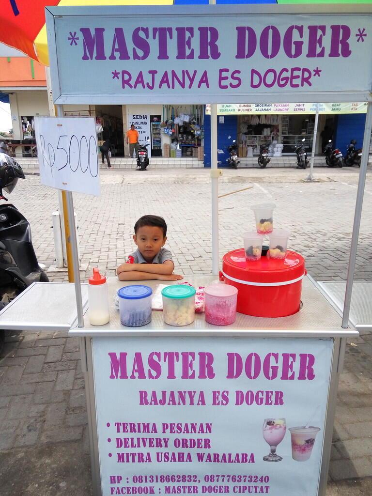 Master Doger Rajanya es doger membuka lowongan kerja