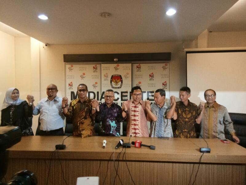 Arief Budiman Jadi Ketua KPU 2017-2022