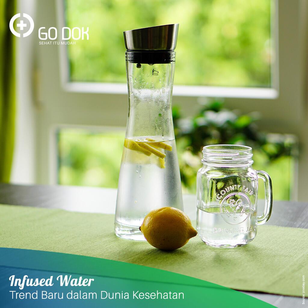 Infused Water, Apa Saja Manfaatnya? Cek di Mari!