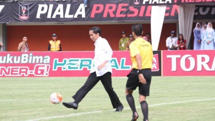 Presiden Jokowi Dijadwalkan Hadiri Kick-off Liga 1 di Bandung