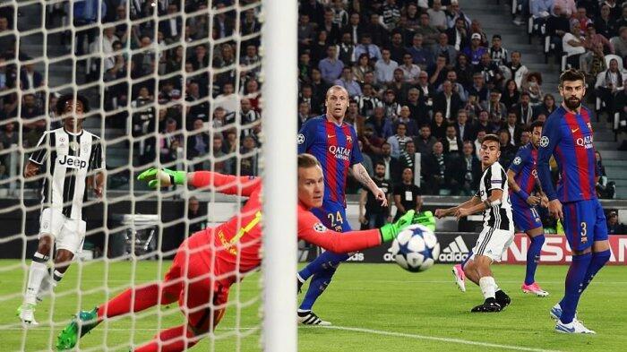 Video Gol-gol Kemenangan 3-0 Juventus atas Barcelona