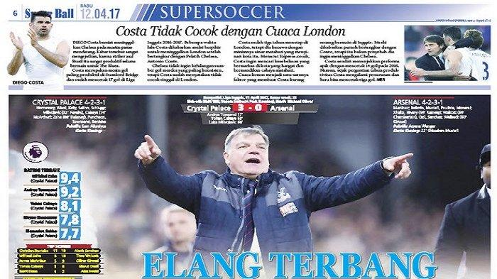 Crystal Palace Raih Hasil Positif