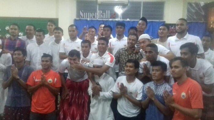 Persija Jakarta Menggelar Syukuran Jelang Liga 1