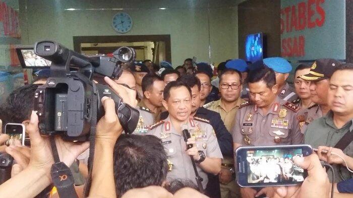 Kapolri Resmika Command Center Polrestabes Makassar