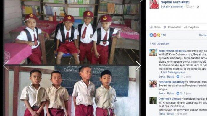 Murid SD Bengkayang Hanya Minta Tas kepada Jokowi, tapi Ini yang Mereka Terima