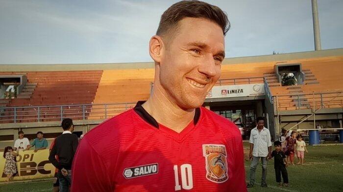 Shane Smeltz Pemain Borneo FC katanya Mirip Lionel Messi